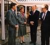 Patrick and Justine Hogan with Irish PM