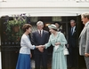 Lady Justine and HRH Queen Elizabeth II