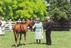 The Queen at Cambridge Stud